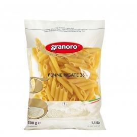 Pasta Grano Duro Penne Rigate Mastroiani Pacote 500G