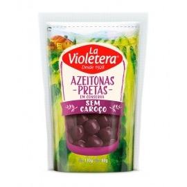 Azeitona Preta S/ Caroço La Violetera Doy Pack 80g