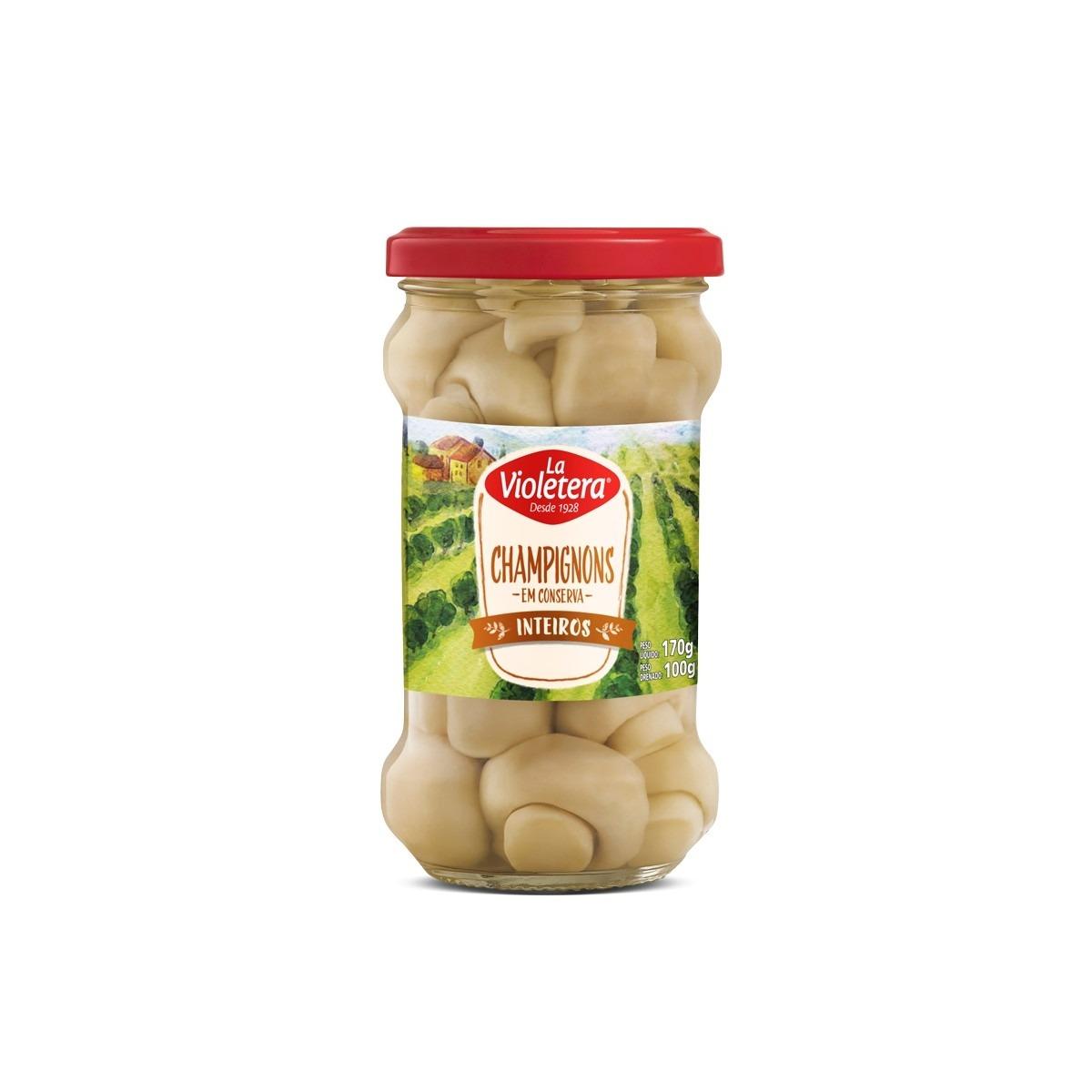 Cogumelo La Violetera Pote 100g
