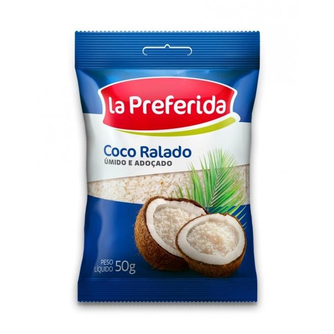 COCO RALADO LP ADOÇADO 50 GR