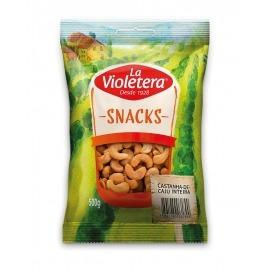 Castanha de caju natural inteira La Violetera 500 gr