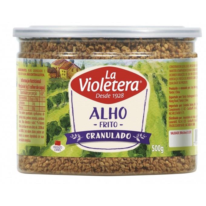 Alho frito granulado La Violetera 500 gr
