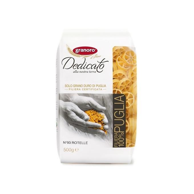 Pasta Grano Duro Rotelle Granoro 500 gr