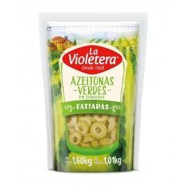 Azeitona verde fatiada La Violetera 1,01 kg
