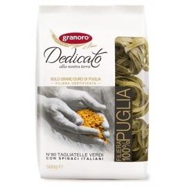 Pasta Grano Duro Ninho Verde Tagliatelle Espinaci 500 gr