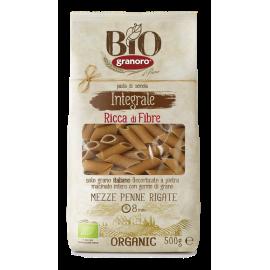 Pasta Grano Duro Penne Integral BIO Granoro 500g