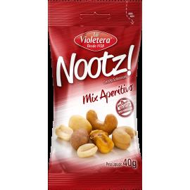 Nootz Mix Aperitivo La Violetera Pacote 40g