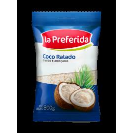 Coco Ralado La Preferida Úmido e Açucarado 800g